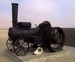 Martin Luther (steam locomotive) - Martin Luther Road Locomotive
