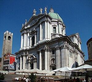 New Cathedral, Brescia - Duomo Nuovo: facade