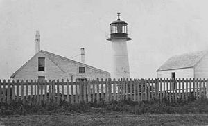 Long Island Head Light - Image: Long Island Head Light early tower