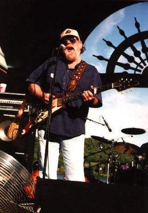 Lonnie Mack - Mack performing at Rising Sun, Indiana, in 2003