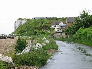 Kingsdown, Kent - Image: Looking S along Undercliffe Road, Kingsdown geograph.org.uk 485185