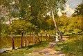 Louis Tauzin - L'étang de Vilbon (Bois de Meudon).jpg