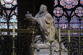 Louis XIII agenouillé