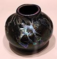 Louis comfort tiffany per tiffany glass & decorating co., vaso, vetro, 1893-96, 13.jpg