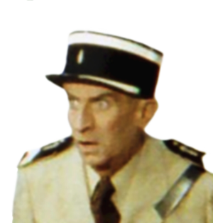 Schauspieler Louis de Funès