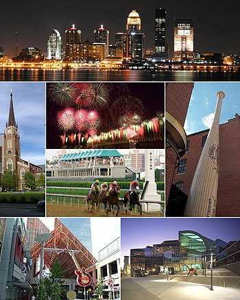 English: Montage of Louisville Ky