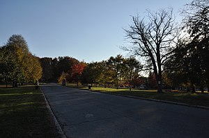 Rogers Fort Hill Park Historic District - Image: Lowell MA Fort Hill Park