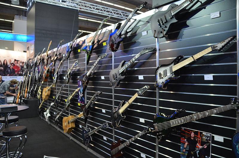 File:Ltd guitars - Musikmesse Frankfurt 2013.jpg