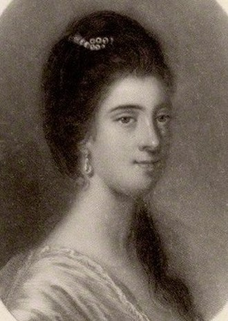 Spouse of the Prime Minister of the United Kingdom - Portrait of Anne FitzRoy
