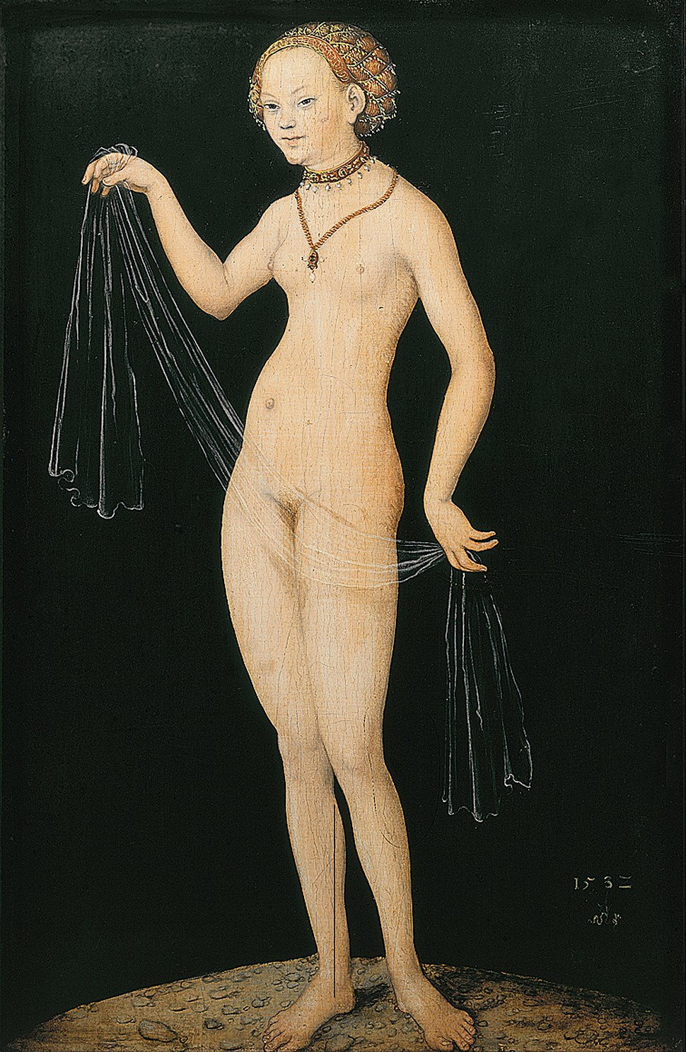 Lucas Cranach the Elder - Venus - Google Art Project