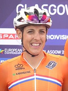 Lucinda Brand Dutch cyclist