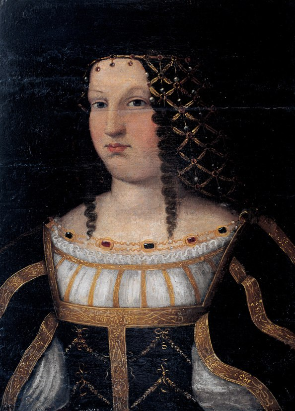 Lucrezia Borgia after Bartolomeo Veneto, Nimes
