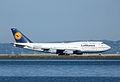 Lufthansa 747 taxi D-ABVC (6780104915).jpg