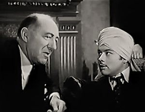 Lumsden Hare - with Turhan Bey in Shadows on the Stairs (1941)