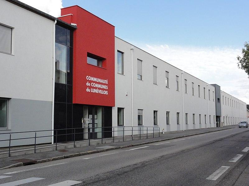 Lunéville (M-et-M) maison communauté de communes du Lunévillois