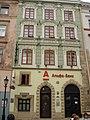 Lwów , Polish , Lviv , Львов - Rynek 26 - Kamienica Janszolcowska (XV w, przebudowana w XIX w.) - panoramio.jpg