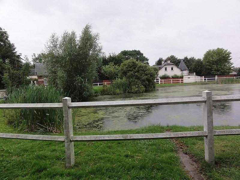 Ly-Fontaine (Aisne) étang