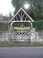 Lychgate at Corton Cemetery - geograph.org.uk - 330116.jpg