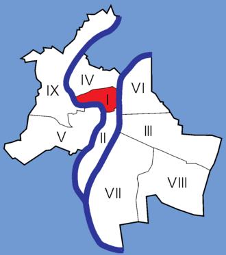 1st arrondissement of Lyon - Image: Lyon Arrondissements 01