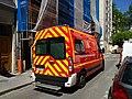 Lyon 7e - Ambulance pompiers rue Pasteur (mai 2019).jpg