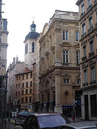 Rue du Bât-d'Argent - Image: Lyon Bât d'argent 11