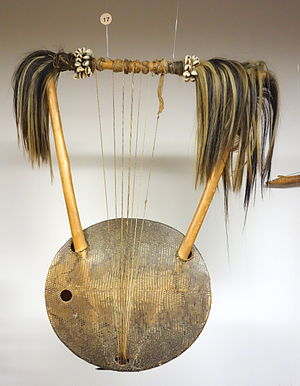 Alur people - Alur lyre