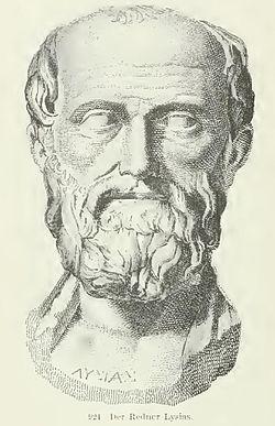 Η Μυρτις ζωντανευει  2.440 χρονια μετα το θανατο της 250px-Lysias_the_orator