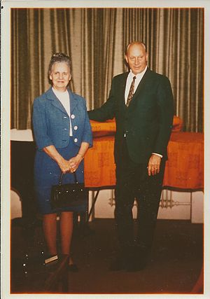 M. Blaine Peterson - Picture taken in 1971 in Nuremberg, Germany, while M. Blaine Peterson was serving as a Mission President for The Church of Jesus Christ of Latter-day Saints