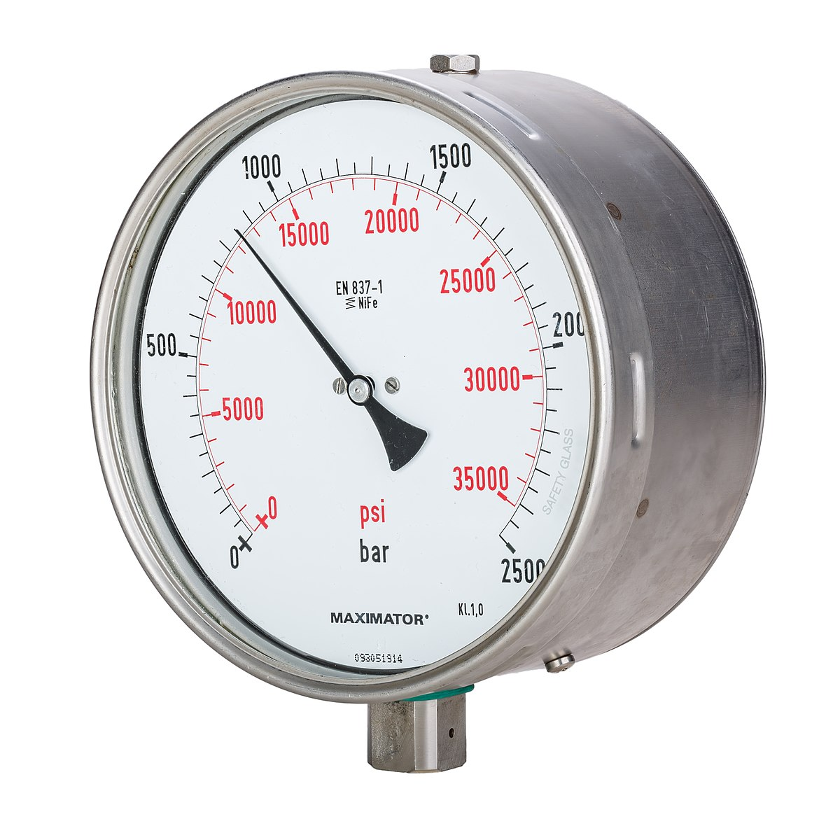 High Pressure Vacuum Gauge : Pressure measurement wikipedia