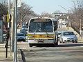 MBTA route 80 bus on Broadway, February 2017.JPG