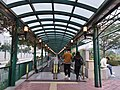 MC 澳門 Macau 氹仔 Taipa 望德聖母灣街 Rua da Baía de Nossa Senhora de Esperança covered moving walkways evening January 2019 SSG.jpg