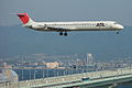 MD-81(JA8294) landing @KIX RJBB (485789464).jpg