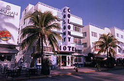 Colony Hotel i Miami Beach