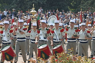 Military band - A military band (French Foreign Legion).