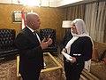 MP Ghada Sakr w Minister 1.jpg