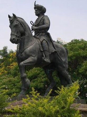 Chitradurga - Image: Madakarinayaka statue