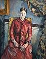 Madame Cézanne de Paul Cézanne (musée d'Orsay, Paris) (35683039184).jpg