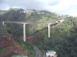 Madeira-Bridge over Ribeira de João Gomes, Funchal.jpg