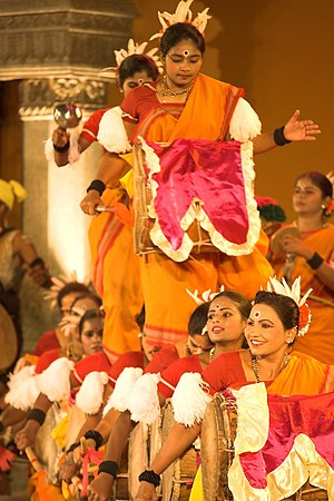 Karnataka Rajyotsava - Traditional dance of Dollu Kunitha in progress as part of Rajyotsava