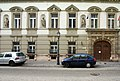 Mailáth-palota. Historizáló stílusú homlokzat. - Budapest, Várkerület, Budai Várnegyed, Úri utca, 54-56. P-110411.jpg