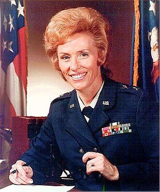 Jeanne M. Holm - Image: Maj Gen JM Holm