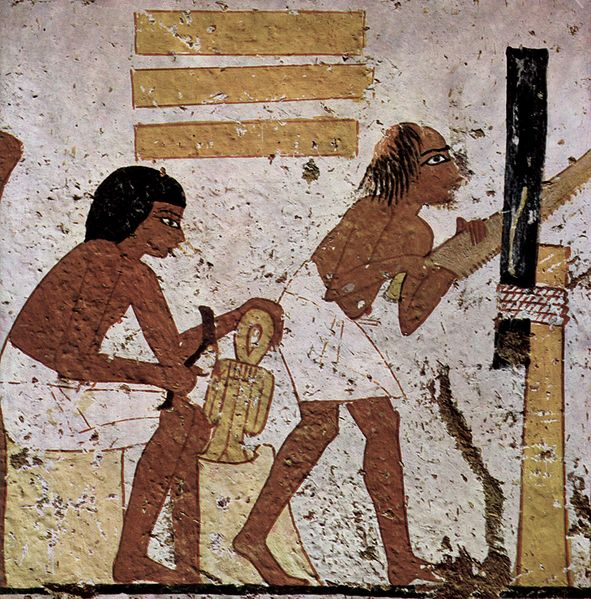 Archivo:Maler der Grabkammer der Bildhauer Nebamun und Ipuki 004.jpg