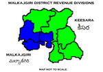 Malkajgiri District Revenue divisions.png