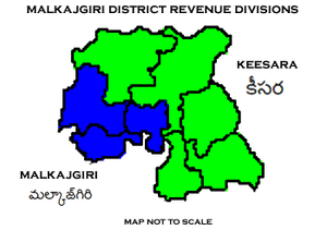 Medchal–Malkajgiri district - Medchal - Malkajgiri District Revenue divisions