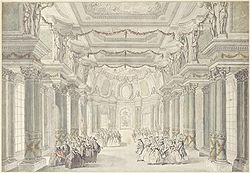 Map of l 39 op ra of the palace of versailles the full wiki for Salle de bain louis xv versailles