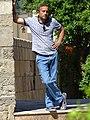 Man by Old Town Walls - Baku - Azerbaijan (17745580370).jpg