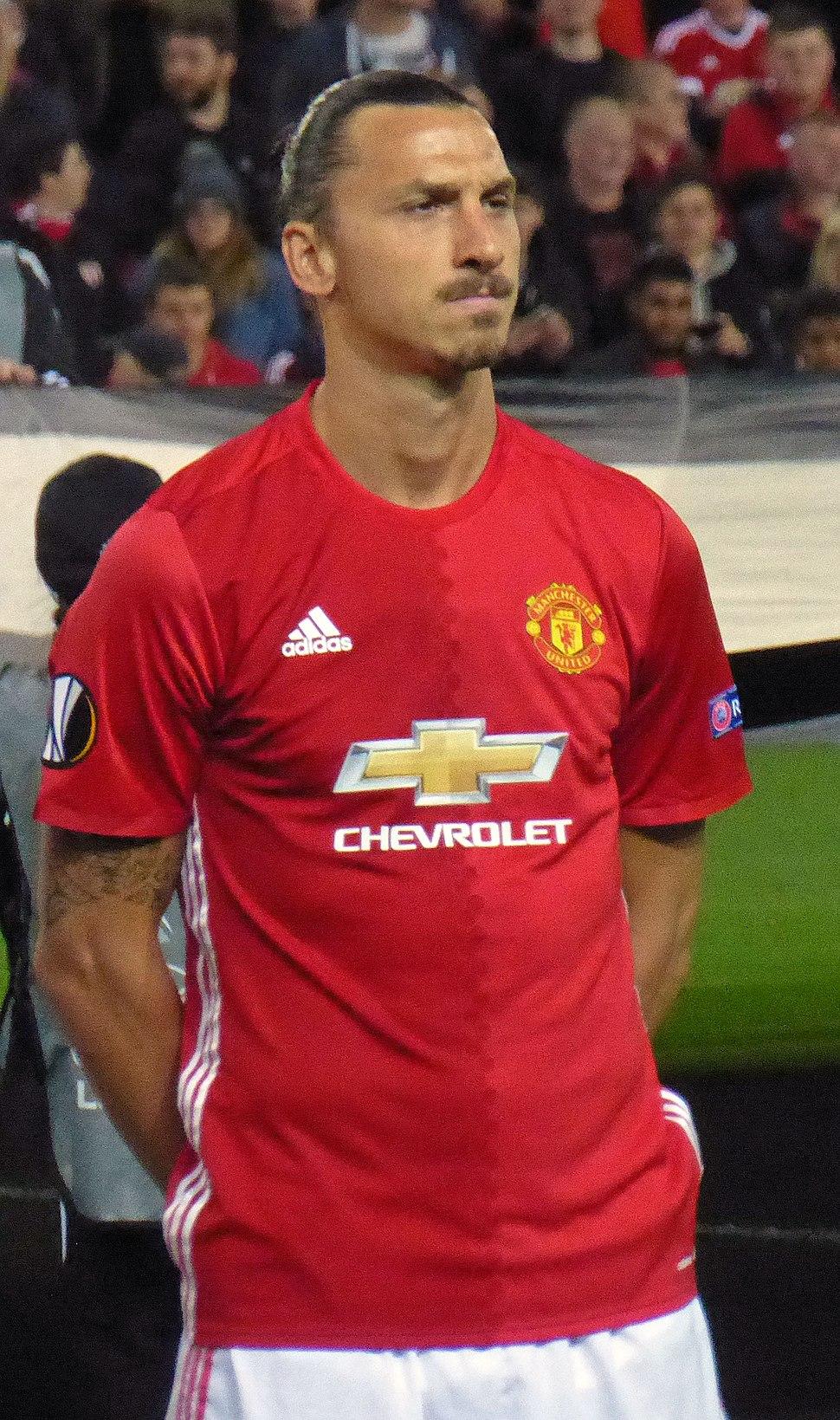 Manchester United v Zorya Luhansk, September 2016 (08) - Zlatan Ibrahimović (edited)
