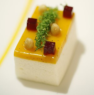 The Fat Duck - Image: Mango and Douglas Fir Puree