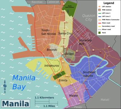 Manila – Travel guide at Wikivoyage