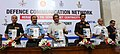 Manohar Parrikar releasing a telephone directory of the Defence Communication Network (DCN) subscribers, at the Dedication Ceremony of the Defence Communication Network (DCN) to the nation, in New Delhi.jpg